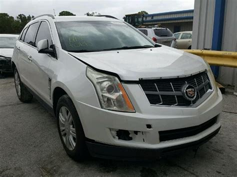 old car owners manuals 2011 cadillac srx parental controls damaged salvage accidental cadillac srx car for sale