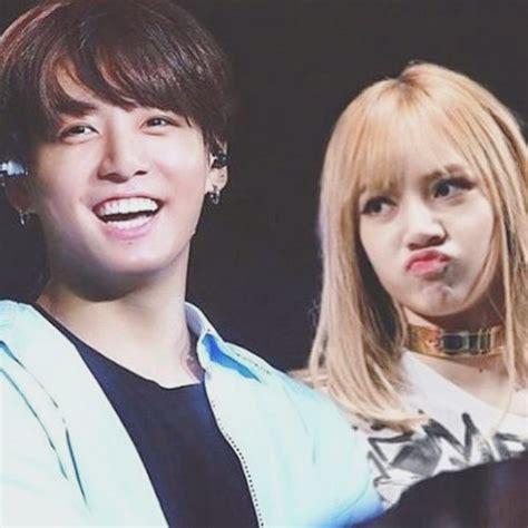 pop couple fantasy bts jungkook blackpink lisa kpopmap