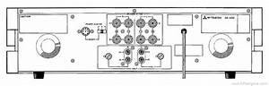Mitsubishi Da-a30 - Manual - Stereo Power Amplifier