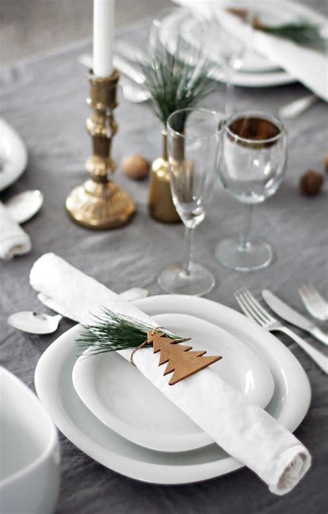 deco de table gris et blanc table de noel pour 233 merveiller les convives design feria