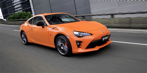 toyota ltd 2017 toyota 86 limited edition arrives in australia from