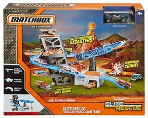 Matchbox Elite Rescue Playset Toys Games