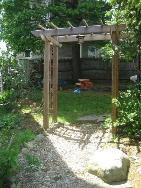 diy garden arch simple wood arbor plans plans diy free pinewood