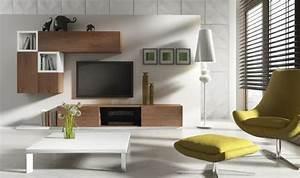 Meuble Haut Salon : meuble tv bas notte a mobilier pour salon design ~ Teatrodelosmanantiales.com Idées de Décoration