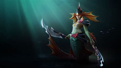 dota  naga siren screenshot wallpaper hd