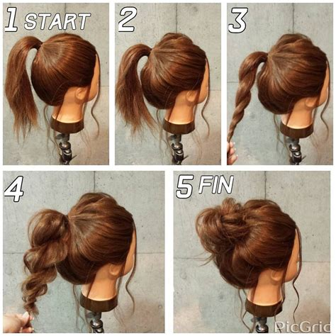 21 super easy updos for beginners hair hair styles