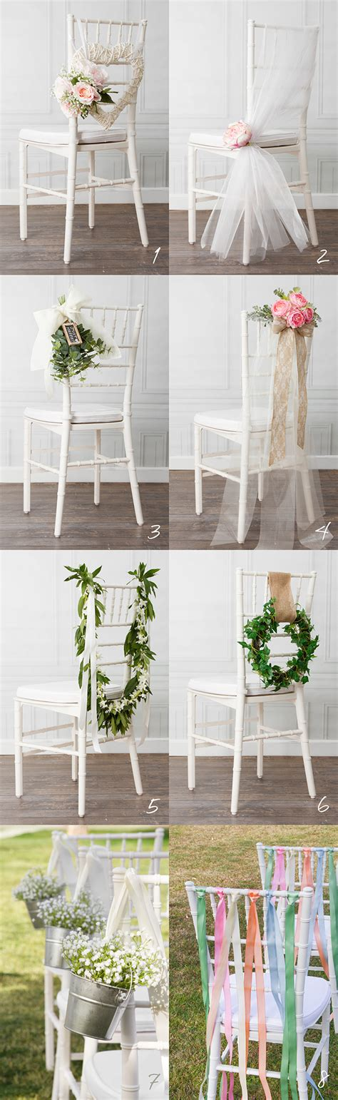wedding decorations for the 8 beautiful diy wedding chair decorations