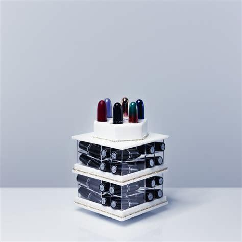 rangement a levres rangement pour 224 levres en acrylique