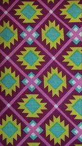 Tribal print fabric/ Native print fabric per by ...