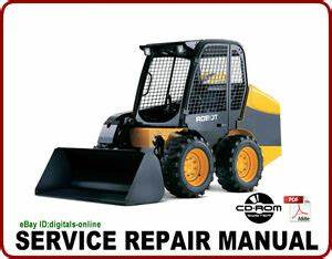 Service Shop Manual CD ROM Mechanical JCB 444 Diesel Engine