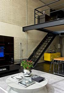 Industrial, Loft, By, Diego, Revollo, Arquitetura