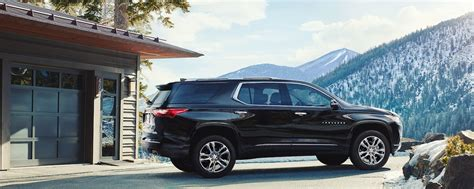 2018 Traverse Midsize Suv Chevrolet
