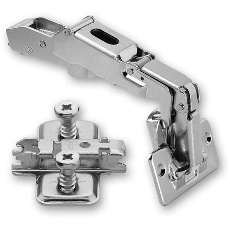Blum CLIP TOP 170 deg. Hinge & Cruciform Mount Plate With