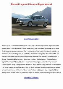 Renault Laguna Ii Service Repair Manual By Ashtonsnipes