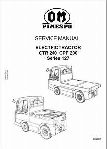 Om Pimespo Fiat Ctr 250  Cpf 200  Ctr 60 Workshop Repa