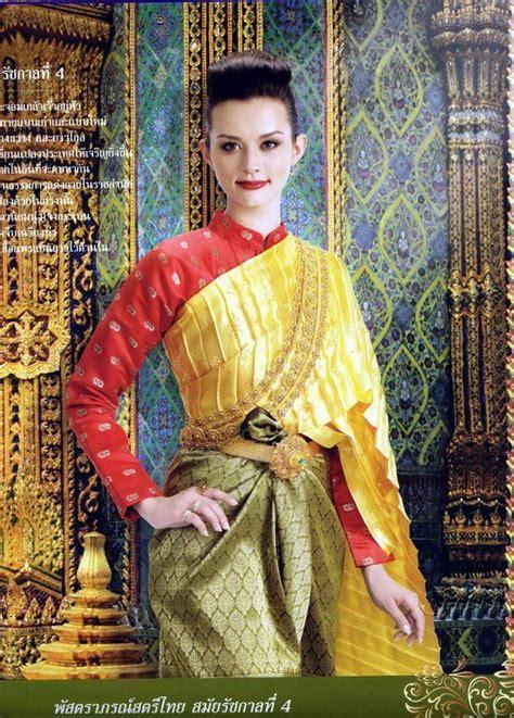 images  thai traditional dress  pinterest