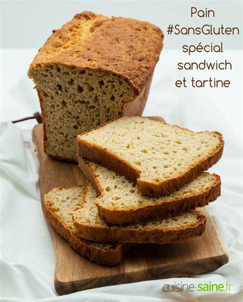 sans gluten spécial sandwich et tartine