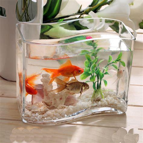 handmade glass transparent fish tank  types