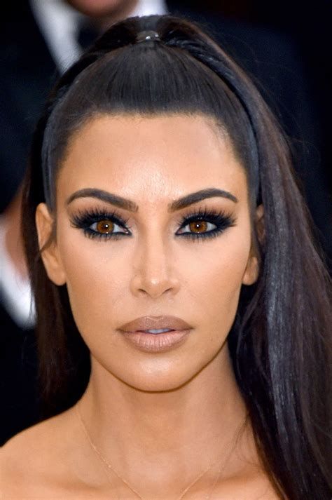 kim kardashian beauty face hair beauty makeup