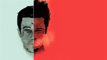 Fight Tyler Durden Pitt Brad Movies Wallpapers