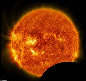 Nasa's solar craft has its clear view of the sun ruined by ...