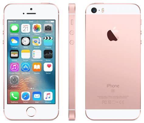 iphone de m 243 vil iphone se 16 gb 4g pantalla retina 4 rosa