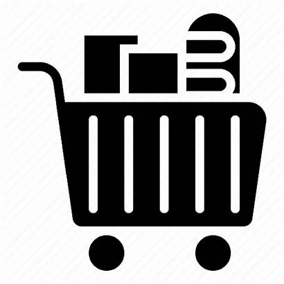 Icon Grocery Supermarket Shopping Cart Icons Np