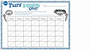 Monthly Tooth Brushing Chart Teeth Brushing Reward Chart Getting Things Done
