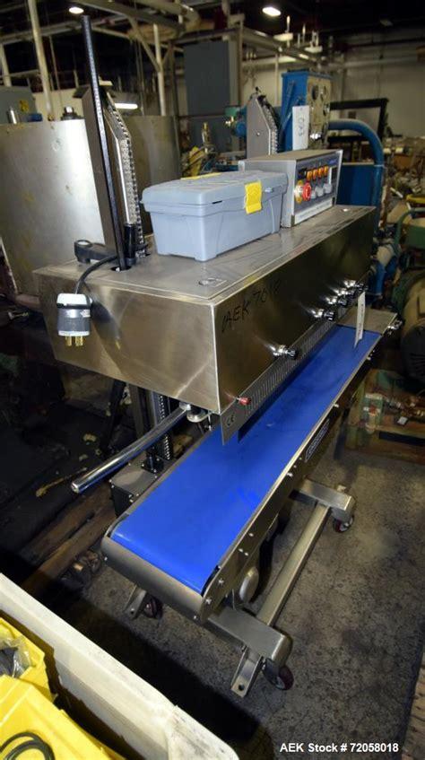 jorestech continuous band sealer model cbs