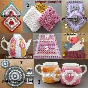 free crochet patterns for kitchen accessories 17 best images about crochet kitchen accessories on 8269