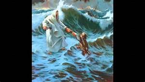 Jesus Beruhigt Den Sturm