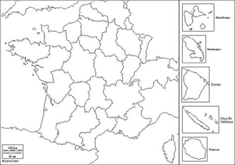 Cartes des nouvelles régions de france 2016 réalisé par l'ign : Carte De France Vierge Avec Region | My blog