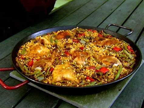 cuisine paella paella recipe alton brown food