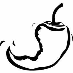 Black Chili Pepper 18 Icon Free Black Vegetables Icons