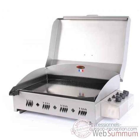 cuisiner au gaz ou à l électricité plancha gaz a poser avec couvercle top plancha