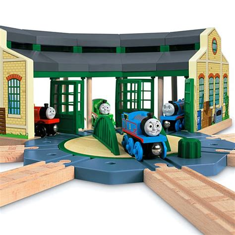 Tidmouth Sheds Wooden Turntable by Friends Wooden Railway Tidmouth Sheds