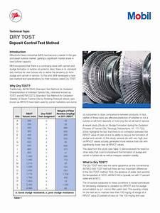 Dry Tost Test Method