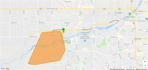 large power outage  southwest bakersfield
