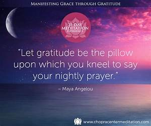 Gratitude is the key to unlocking the grace within ...