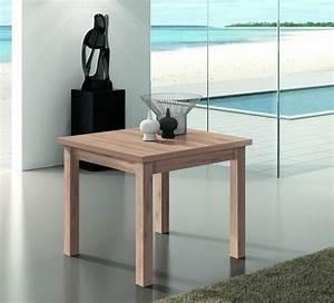 Table Carrée Extensible : table de repas carr e extensible kronos finition ch ne ~ Teatrodelosmanantiales.com Idées de Décoration