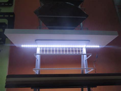 Mensole Led by Mensola Led Design In Legno 3 Misure E 6 Colori Batteria