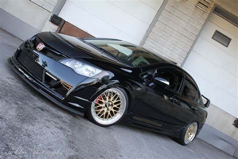 For full details such as dimensions, cargo capacity, suspension, colors, and brakes, click on a specific civic trim. Modified Black Civic   Sport Cars