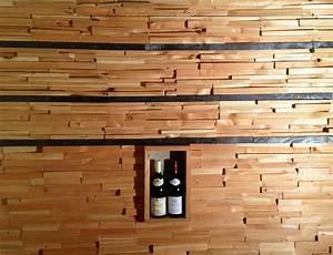 Mur En Bois Intérieur Decoratif : mur bois d cor brut malpasien m l ze et douglas ~ Teatrodelosmanantiales.com Idées de Décoration