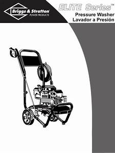 Briggs  U0026 Stratton Pressure Washer 020215 User Guide