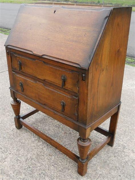 bureau writing desk oak writing bureau desk