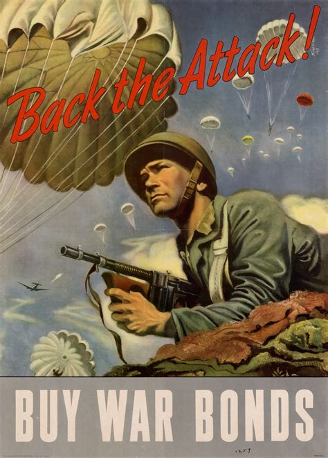 attack buy war bonds unt digital library