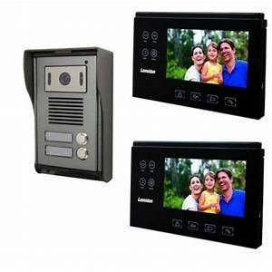 Portier Video Brico Depot : visiophone pour 2 appartements ou 2 logements ~ Melissatoandfro.com Idées de Décoration