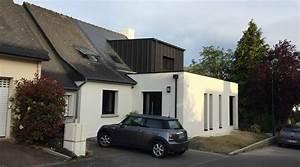Cout Agrandissement Maison : extension d 39 une maison pac rennes 35 architecte 2 ~ Premium-room.com Idées de Décoration