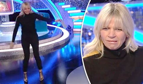 Strictly Come Dancing 2017: Zoe Ball stumbles off It Takes ...