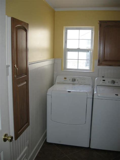 Laundry Room Wainscoting  By Smiod Homerefurberscom